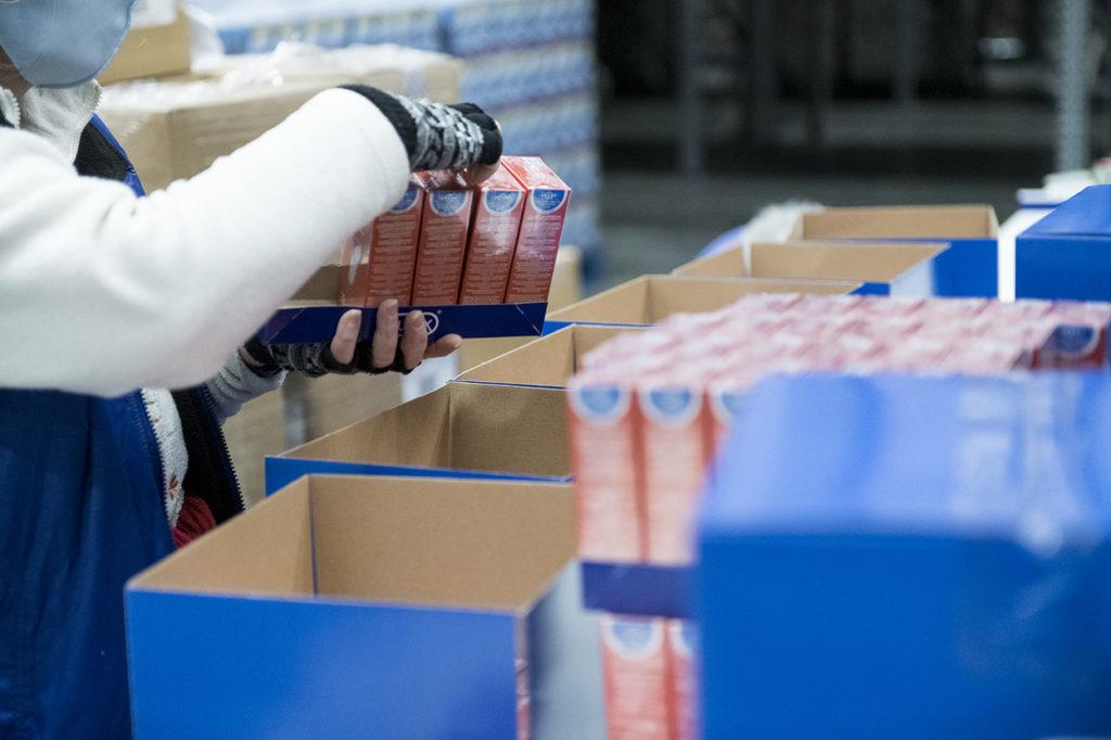 Csomagolóanyag készletezés