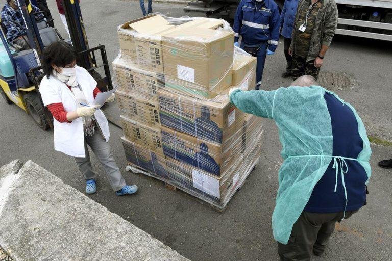A WSZL megkezdte a hazánkba érkezett egészségügyi felszerelések és eszközök kiszállítását