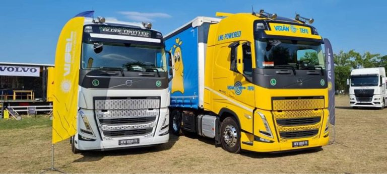 Átvettük a Volvo Trucks LNG meghajtású kamionját